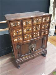 Sale 8648C - Lot 1002 - Chinese Spices Cabinet