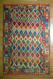 Sale 8693C - Lot 33 - Persian Kilim 306cm x 202cm