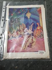 Sale 8775 - Lot 45 - A Norman Lindsay Print Magazine Cover