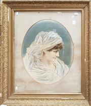 Sale 8831 - Lot 1017 - C19th Chromolithograph in Gilt Frame