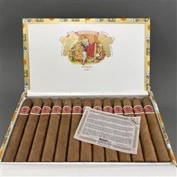 Sale 9120W - Lot 1450 - Romeo y Julieta 'Belicosos' Cuban Cigars - box of 25, dated October 2019