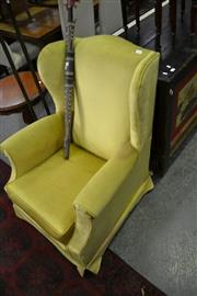 Sale 8115 - Lot 1045 - Upholstered Wingback Armchair