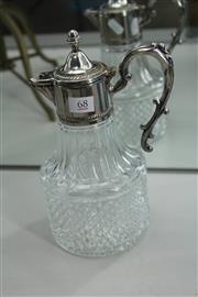 Sale 8296 - Lot 68 - Silver Plated Claret Jug