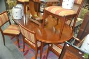 Sale 8331 - Lot 1076 - Parker Dining Suite incl. Extension Table (L 180 to 270cm) and Eight Chairs incl. Two Carvers