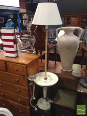 Sale 8412 - Lot 1068 - Art Deco Standard Lamp with Smoke Stand