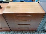 Sale 8476 - Lot 1080 - G-Plan Teak Four Drawer Chest