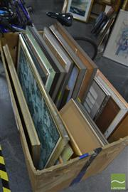 Sale 8537 - Lot 2056 - Collection of Original Paintings by Various Artists, various sizes (box not included)