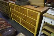 Sale 8566 - Lot 1597 - Timber Chest of 8 Drawers (96.5 x 51 x 162)