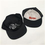 Sale 8926M - Lot 64 - Two Hats ACDC and Metallica