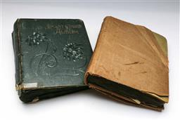 Sale 9144 - Lot 445 - Two post card albums