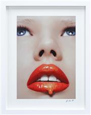 Sale 8282A - Lot 49 - Artist Unknown (XX) - Scarlett Lips 60 x 42cm