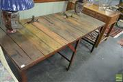 Sale 8257 - Lot 1012 - Industrial Works Bench