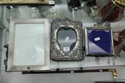 Sale 8261 - Lot 48 - English Hallmarked Sterling Silver Picture Frames (3)