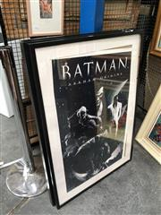 Sale 8853 - Lot 2093 - Collection of Framed Movie Posters incl Batman