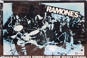 Sale 8872 - Lot 1042 - Vintage Ramones Mounted Poster