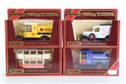 Sale 8960T - Lot 5 - A Set Of Four Matchbox Models of Yesteryear Toy Cars Incl double Decker Bus