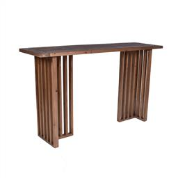 Sale 9140F - Lot 69 - Contemporary old fir wood hall table in natural brown. Dimensions: W140 x D40 x H82 cm