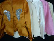 Sale 7982B - Lot 102 - Bill Blass, five sequinned embellished jackets in various colours