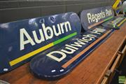 Sale 8260 - Lot 1041 - Collection of Four Railway Signs incl. Dulwich Hill & Regents Park