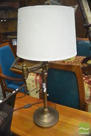Sale 8326 - Lot 1361A - Brass Base Table Lamp