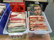 Sale 8587 - Lot 2018 - Two Boxes of Record Singles