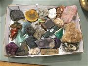 Sale 8740 - Lot 1517 - Tray of Mixed Geology Specimens