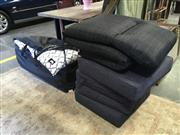 Sale 8782 - Lot 1750 - Set of Eight Mimosa Outdoor Furniture Cushions Together with Four Small Examples & Another (13)