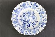 Sale 8832 - Lot 82 - A Meissen Marked Blue and White Plate (Dia 23cm)