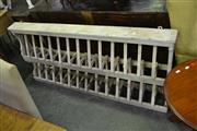 Sale 8115 - Lot 1049 - Wall Mounted Plate Rack