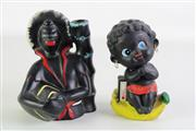 Sale 8926 - Lot 26 - Barsony Style Figure (H16cm, chip to hat) With Money Box H:15cm