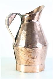 Sale 8968C - Lot 933 - Rare French Copper Jug or Measure (Height: 42cm)
