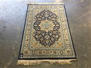 Sale 9006 - Lot 1066 - Blue and Cream Tone Floor Rug (153 x 100cm)