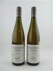 Sale 8353A - Lot 825 - 2x 2009 Main Divide Late Picked Pinot Gris, Waipara Valley