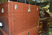 Sale 8380 - Lot 1077 - Metal Trunk