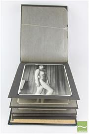 Sale 8546 - Lot 6 - Album of Nude Photographs