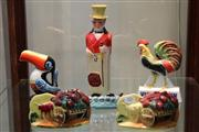 Sale 8014 - Lot 83 - Assorted Decanters, Jugs and Advertising Signs