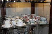 Sale 8231 - Lot 101 - Wedgwood California Tea Wares (1 cup a.f.) with Other Ceramics incl. Royal Albert Trios