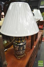 Sale 8277 - Lot 1038 - Pair of Chinese Museum Series Lamps (4234)