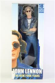 Sale 8823M - Lot 15 - NECA 18 Motion Activated Sound Model of John Lennon