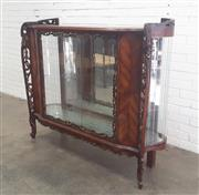 Sale 9071 - Lot 1002 - French Style Display Cabinet (h:130 x w:155 x d:43cm)