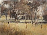 Sale 8475 - Lot 570 - Patrick Carroll (1949 - ) - Golden Pastures, Mudgee 44.5cm x 59cm