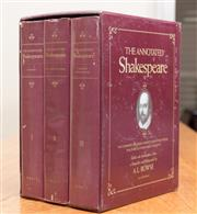 Sale 8489A - Lot 72 - A boxed set of the complete works of Shakespeare in three volumes
