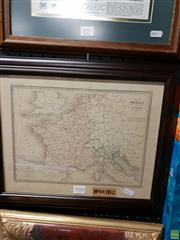 Sale 8645 - Lot 2098 - Original Engraved Map 1812