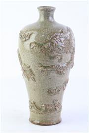 Sale 8810 - Lot 74 - Chinese Dragon Themed Vase