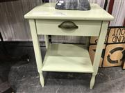 Sale 8889 - Lot 1365 - Pair of Painted Side Tables
