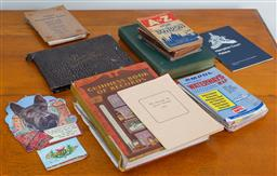 Sale 9103M - Lot 755 - A collection of vintage road maps and other ephemera.