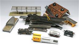 Sale 9148 - Lot 68 - Collection of model trains
