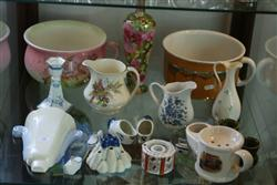 Sale 7914 - Lot 58 - Wedgwood Candle Stick with Various Other English & Continental Ceramics