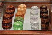 Sale 8014 - Lot 85 - Collection of Victorian Glass Jelly Mould Casters