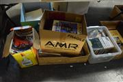 Sale 8405 - Lot 2334 - 3 Boxes Of Magazines  and a Box of CDs